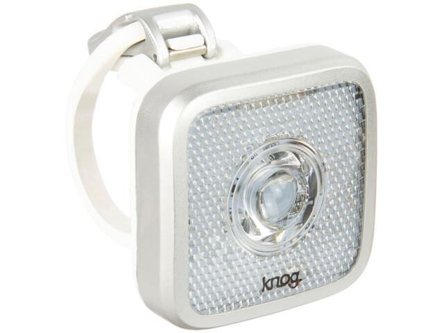 Knog Blinder MOB Eyeballer Linterna frontal LED blanco, silver